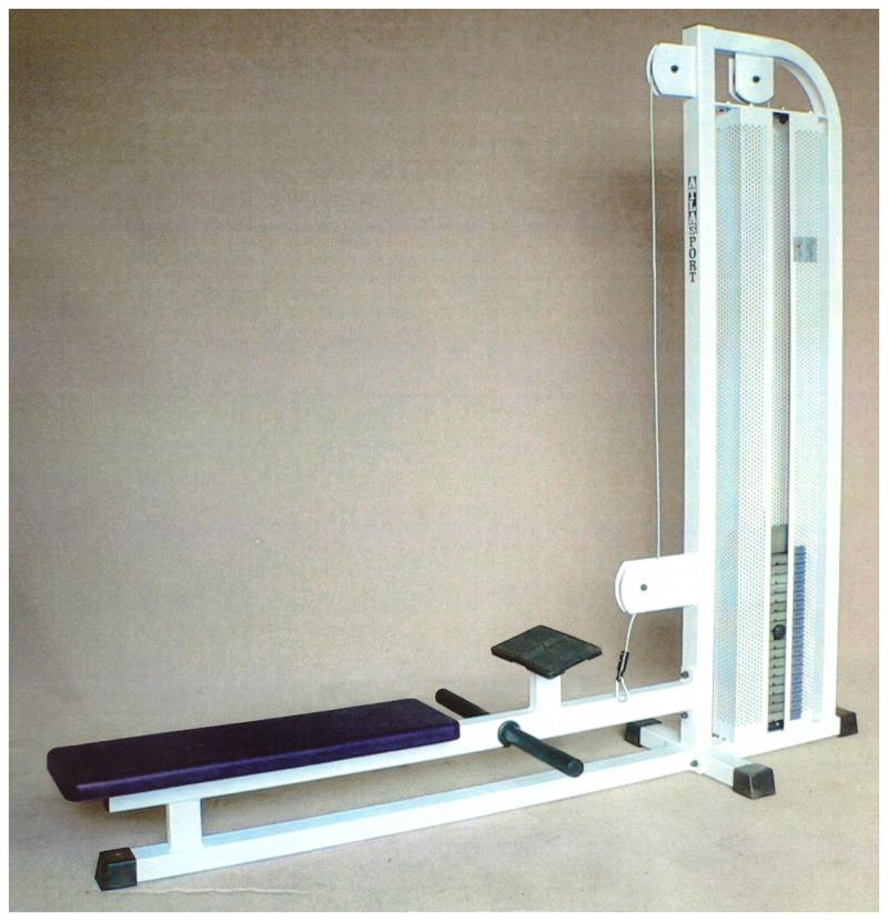 Long pully machine
