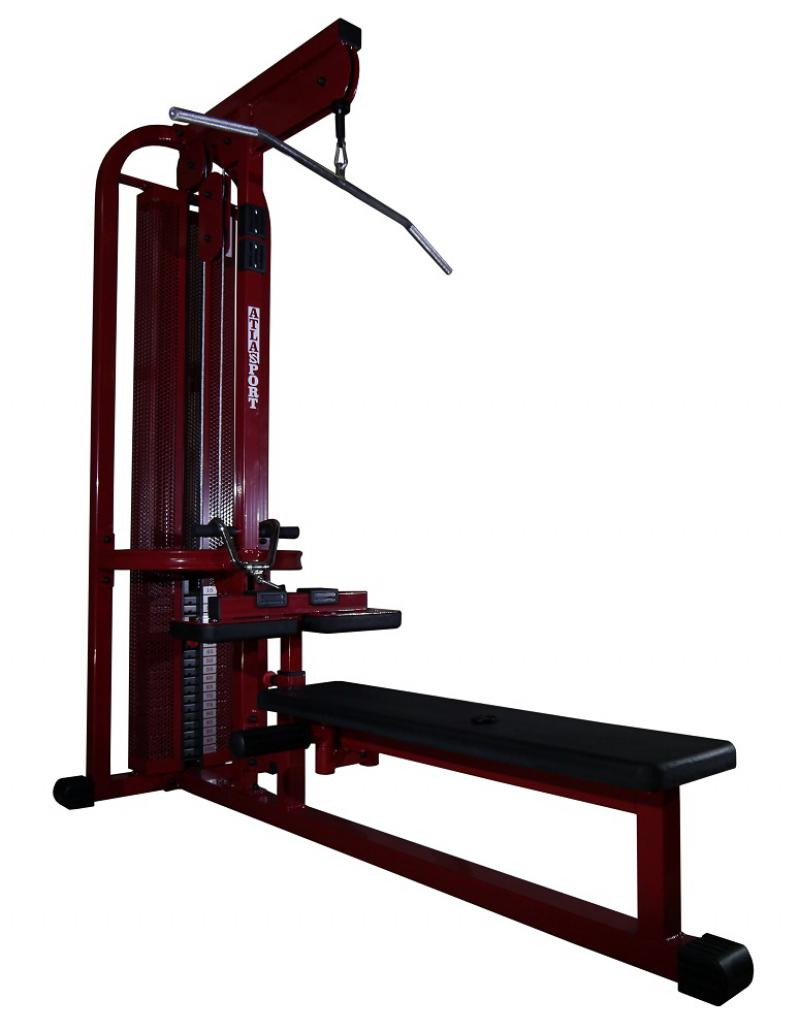 Lat pully – long pully machine