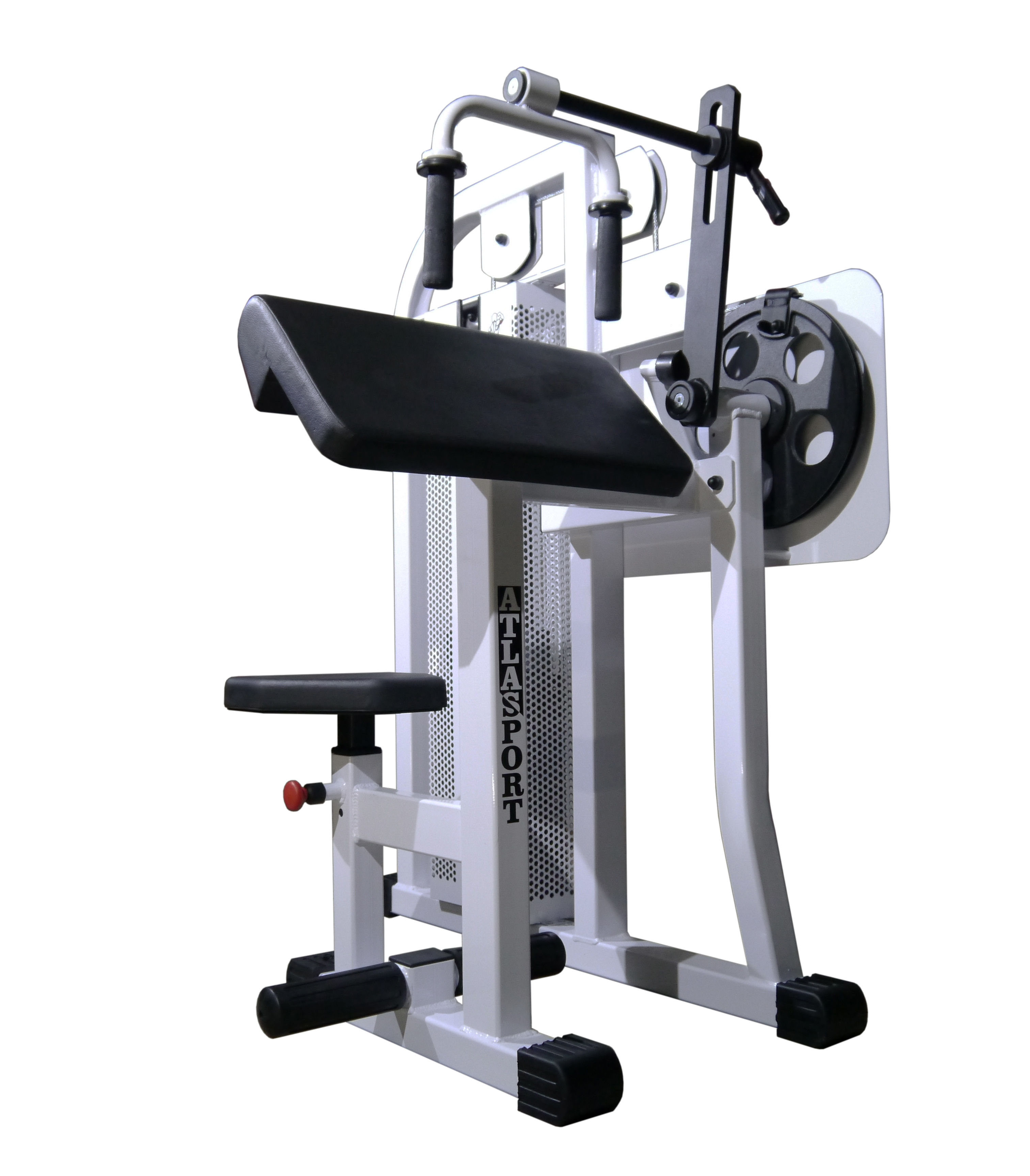 Triceps machine, sitting, 45°